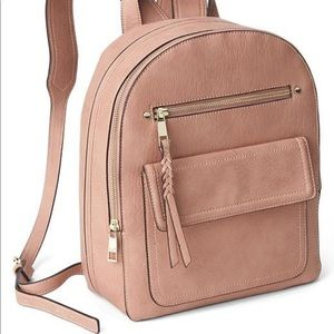 ISO gap dome backpack, dusty rose NWT.
